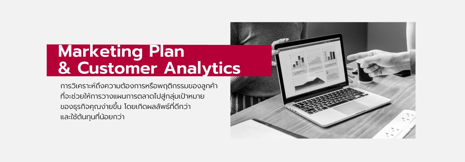 Marketing plan & Customer Analytics