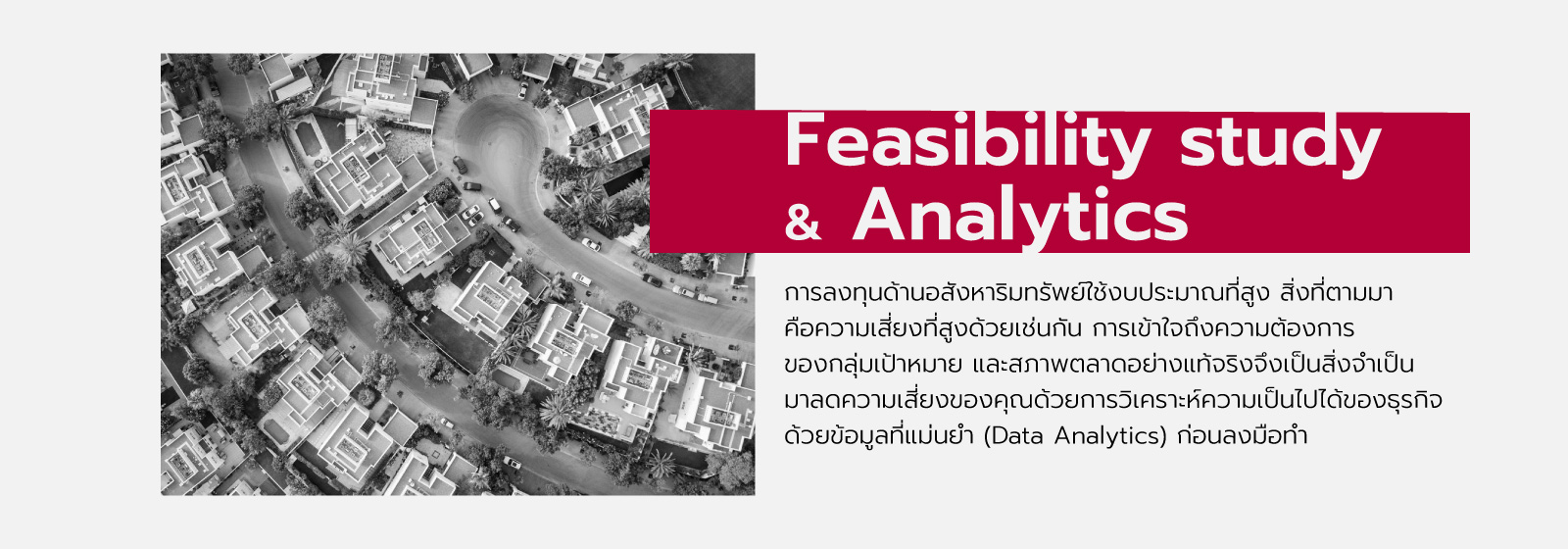 Feasibility study & Analytics